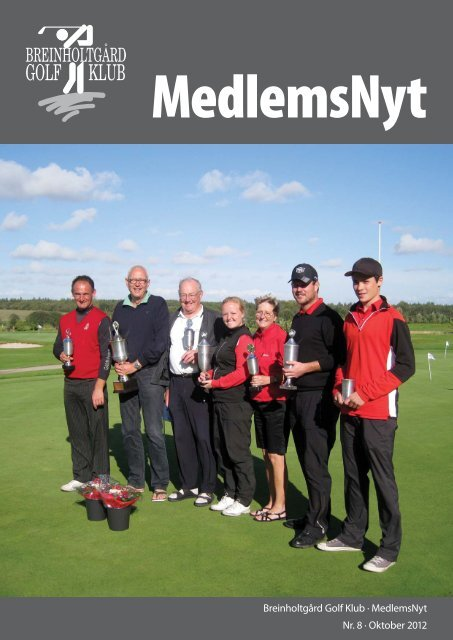 oktober 2012 - Breinholtgård Golf Center