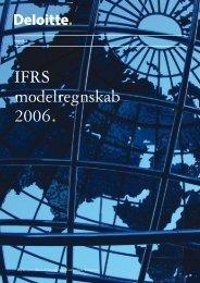 IFRS modelregnskab 2006. - IAS Plus