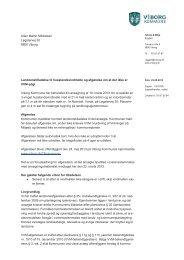 Landzonetilladelse til husstandsvindmølle og afgørelse om at der ...