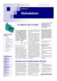 Nyhedsbrev nr. 2. 10 feb 2012.pdf - Danske Handicaporganisationer
