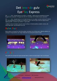Det levende gulv EyePlay Express - Multicare