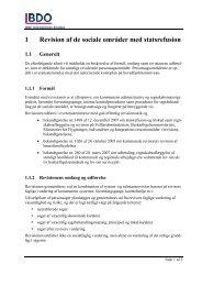 1 Revision af de sociale områder med statsrefusion 1.1 ... - Skive.dk