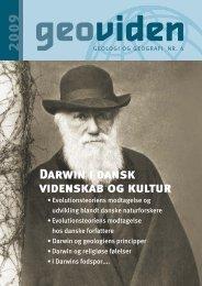 Darwin i dansk videnskab og kultur - Geocenter København