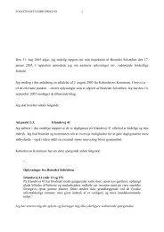 Bostedet Solstriben - Folketingets Ombudsmand