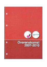 Blik & Rør overenskomst 2007 - Kooperationen