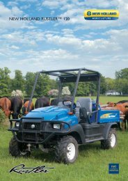 NEW HOLLAND RUSTLER™ 120