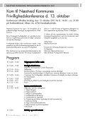 Frivillighedskonference Det frivillige arbejde - Futuracentret - Page 4