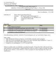 Indkaldelse - Ejerforeningen EF1386
