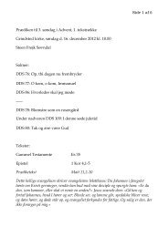Side 1 af 6 Prædiken til 3. søndag i Advent, 1 ... - Grindsted Sogn