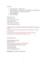 Title Page: • Type of manuscript :Original Article • Manuscript new ...