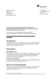 Udstedelsesbrev - Miljøstyrelsen