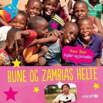 Rune Klan tryller og fortæller - UNICEF Netbutik