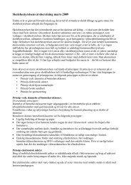 Skolebestyrelsens årsberetning marts 2009 - Hornslet Skole