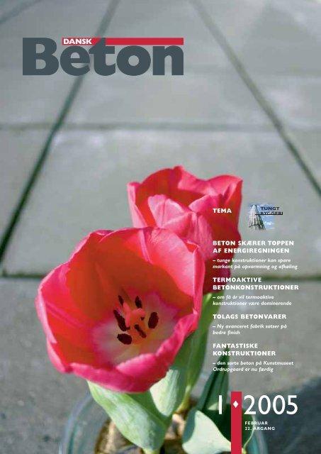 Download blad nr. 1-2005 som pdf - Dansk Beton