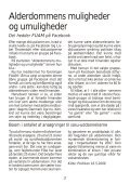 Nyt nr. 2/2009 - Foreningen til Udvikling af Alderdommens Muligheder - Page 3