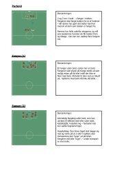 Træningsøvelser - Ikast FS Fodbold