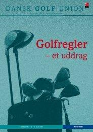 Golfregler – Et uddrag - crkgolf