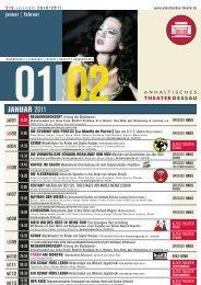 januar | februar - Anhaltisches Theater Dessau