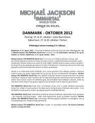 DANMARK - OKTOBER 2012 - Parken