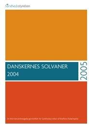 DANSKERNES SOLVANER 2004 - Kræftens Bekæmpelse