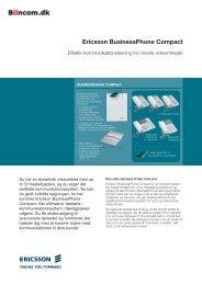 Ericsson BusinessPhone Compact - Biincom