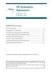 September 2010 - FN-forbundet
