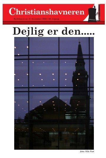 2005 december side 1-13 - Christianshavneren