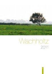 72-seitige Verlagsverzeichnis 2011 - Wachholtz Verlag Gmbh