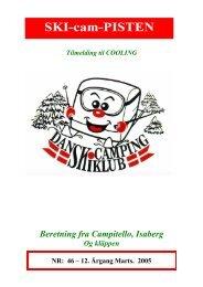 Beretning fra Campitello, Isaberg - Dansk Camping Skiklub