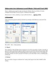 Vejledning til billeder i Microsoft Word 2003.pdf - Naturstyrelsen