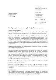 Kortlægningsskrivelse af 23. februar 2004 fra Nordjyllands Amt