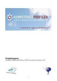 Projektrapport - Dansk Folkeoplysnings Samråd