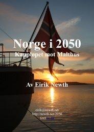 Kappløpet mot Malthus Av Eirik Newth