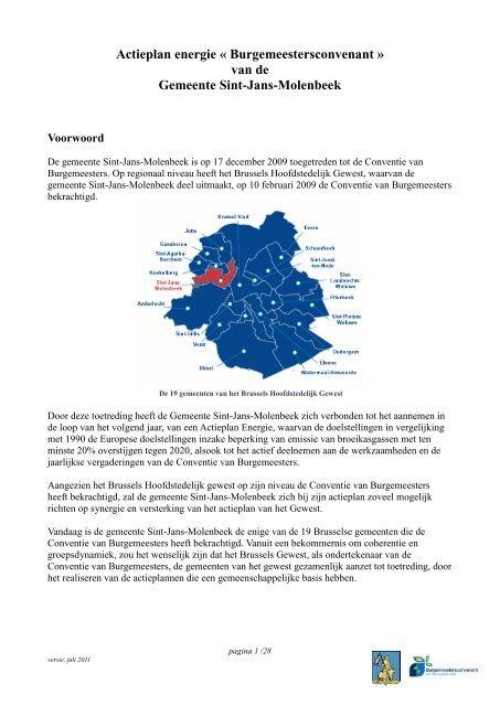 van de Gemeente Sint-Jans-Molenbeek