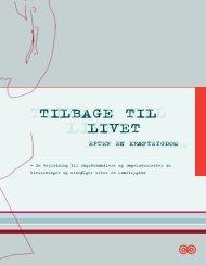 TILBAGE TIL LIVET - Kræftens Bekæmpelse