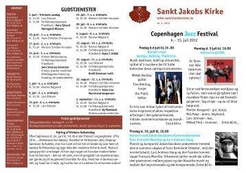 Kirkebladet - juni/juli/august 2012 - Sankt Jakobs Kirke