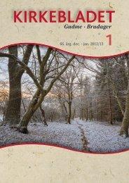 2013 Kirkeblad nr. 1 December - Gudme-Brudager kirker