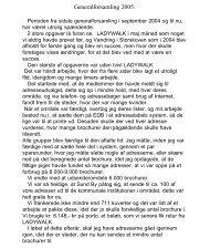 Generalforsamling 2005. - Fodslaw Frederikshavn