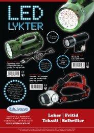 Leker | Fritid Tekstil | Solbriller - Rob Arnesen