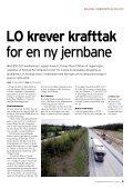 Nr. 5 – 2008 Vil ha oljefond for ny jernbane - Jernbaneverket - Page 5