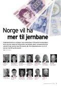 Nr. 5 – 2008 Vil ha oljefond for ny jernbane - Jernbaneverket - Page 7