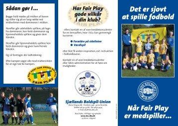 Fairplay (pdf) - DBU Sjælland