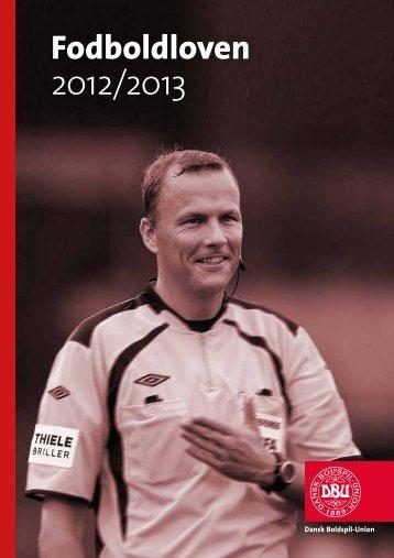 Fodboldloven 2012/2013 - DBU