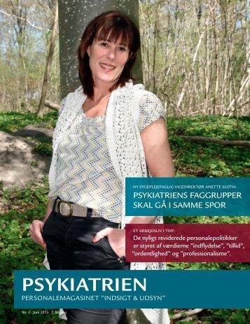 Indsigt & Udsyn - juni 2013 - Psykiatrien - Region Nordjylland