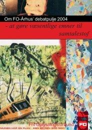 rapporten samlet for 2004 i pdf-format - FO-Aarhus