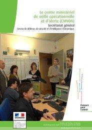 Le centre ministériel de veille opérationnelle et d'alerte (CMVOA)