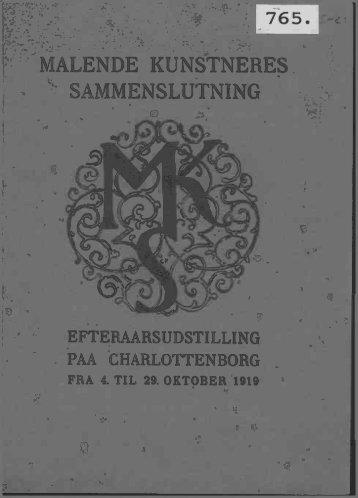 MALENDE KUNSTNERES SAMMENSLUTNING