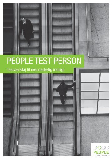 PeoPle TesT Person - People Test Systems