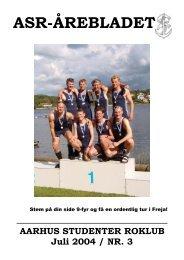 Årebladet 04.3 (fylder 3.86mb) - ASR - Aarhus Studenter Roklub