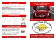 Med din Citroën kan du mere end så mange andre… Bliv medlem af ...